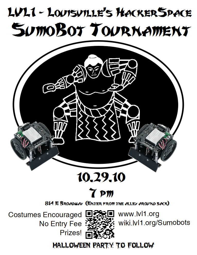 LVL1 Sumobot competition