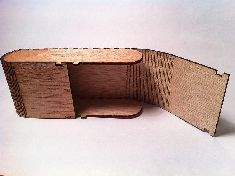 inkscape extension to render a living hinge lvl1. Black Bedroom Furniture Sets. Home Design Ideas